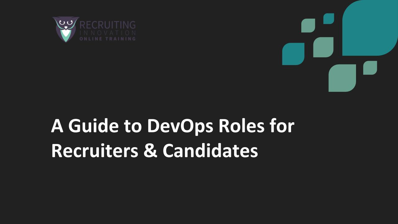 A guide to devops roles for recruiters candidates recruiting a guide to devops roles for recruiters candidates recruiting innovation urtaz Image collections