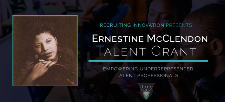 Announcing the 'ERNESTINE MCCLENDON TALENT GRANT'